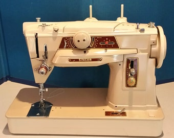 Restored German Singer 401G Vintage Sewing Machine w/Free Shipping and Guaranty