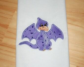 Winged Dino_ Applique Design