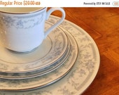 "SUMMER SALE Sheffield ""Blue Whisper"" 5-piece Place Setting"