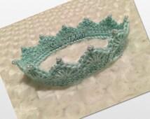 Baby Crown, Crochet Baby Crown, Baby Head Crown, Handmade Crown
