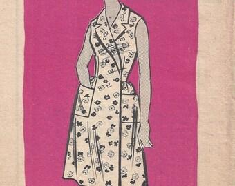 SALE 30% OFF 50's Mail Order 9012 Front Wrap Dress Dress Sz 16 Bust 36