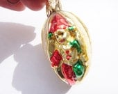 Jester Christmas Ornament German Glass Vintage