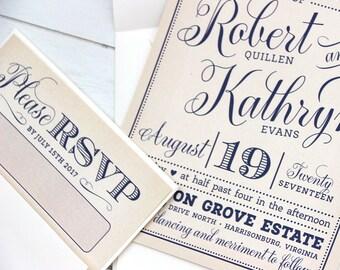 Victorian Invitation | Etsy