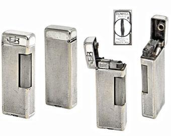 Vintage Dunhill Rollalite Cigarette Lighter Swiss Made.