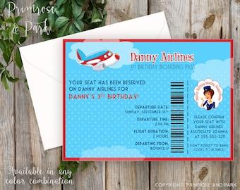 Boarding pass maken