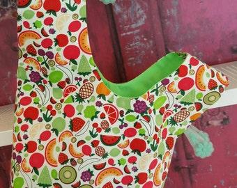 Fruity Japanese Knot Bag
