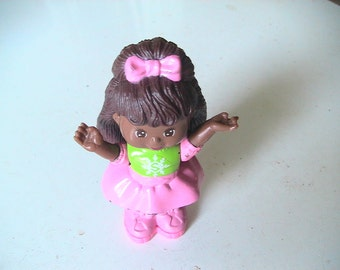 Vintage McDonalds Cabbage Patch Happy Meal Collectible Cake Topper Retro