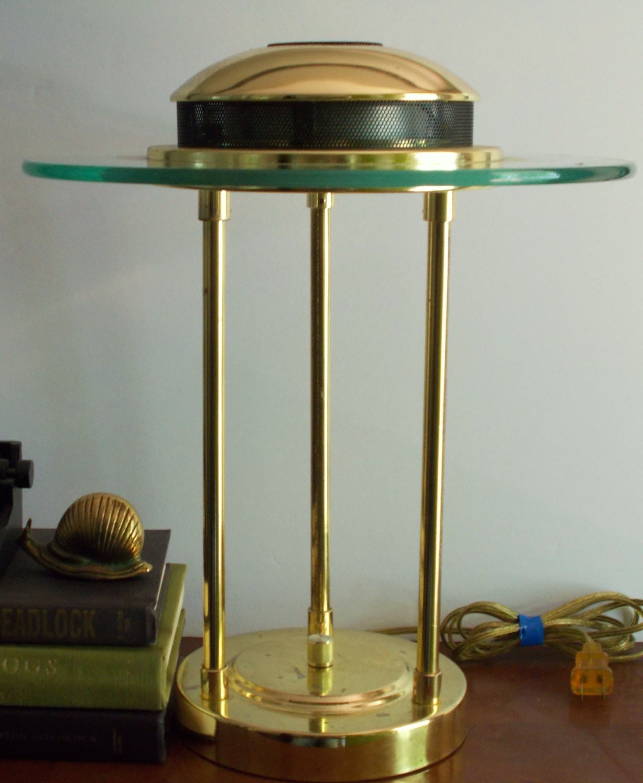 Vintage Sonneman Kovacs Saturn Desk Lamp Modern Lamp Brass