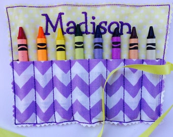 BOGO Crayon Roll - free personalization