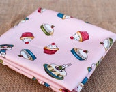 Paper Dolls Bakery ~ Penny Rose Fabrics ~ Riley Blake ~ FQ, Fat Quarter, One Metre and Half Metre Cupcake Designer Fabric