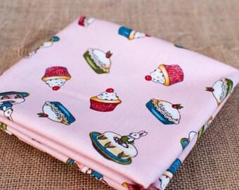 Paper Dolls Bakery ~ Penny Rose Fabrics ~ Riley Blake ~ FQ, Fat Quarter, One Metre and Half Metre Cupcake Designer Fabric