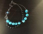 Row Counter Bracelet - Glass Bead