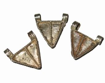 3 Ethiopian Telsum Amulets : Ethiopia African Prayer Box Beads