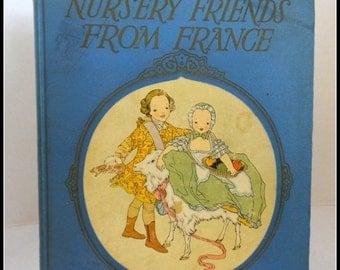 Vintage Bood Nursery Friends From France