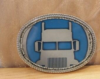 Mother Trucker Belt Buckle