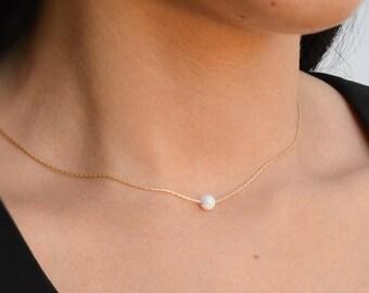 Opal necklace, opal jewelry, October birthstone ,luck necklace ,everyday necklace, simple necklace, opal necklace jewelry,opal pendant-20098