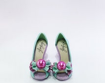 handmade collectable miniature shoes