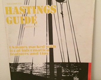 Vintage travel guide to Hastings