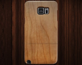Wood Samsung Galaxy Note 5 case. Cherry wood.