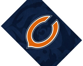 Passport Cover Case Holder -- Chicago Bears