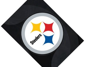 Passport Cover Case Holder -- Pittsburgh Steelers