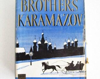 The Brothers Karamazov by Fyodor Dostoyevsky Hardcover Modern Library