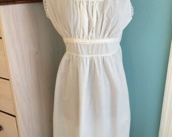 Vintage cotton nightgown