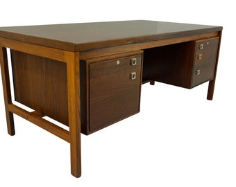 Rosewood Desk Arne Vodder Danish Modern Mid Century