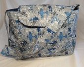 Very Cute Airplane Diaper Bag Great Baby Shower Gift