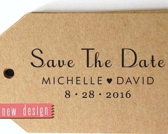 CUSTOM pre inked address STAMP from USA, Save the Date Stamp, Custom Wedding Stamp, Custom Stamp, Diy Wedding Stamp, Designer Stamp RC6-22