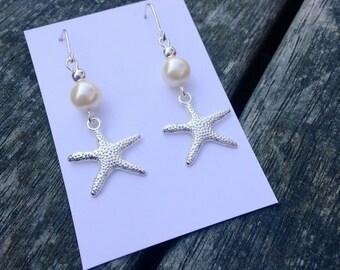 Seaside Star Fish Earrings