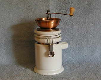 Coffee Grinder - Mason Jar Base