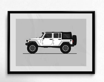Custom Jeep or Truck Poster