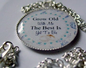 Brides pendant to tell her how much you Love her
