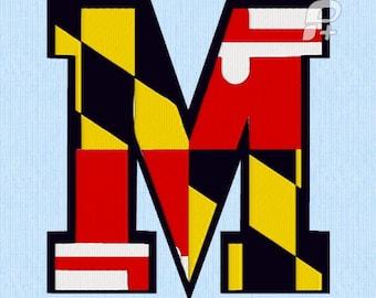 Maryland Flag M