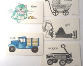 Premium Vintage Flash Cards - 5, Book Theme Baby Shower, Book Theme Party, Book Party Decor, Library Party Decor, Book Party Supplies