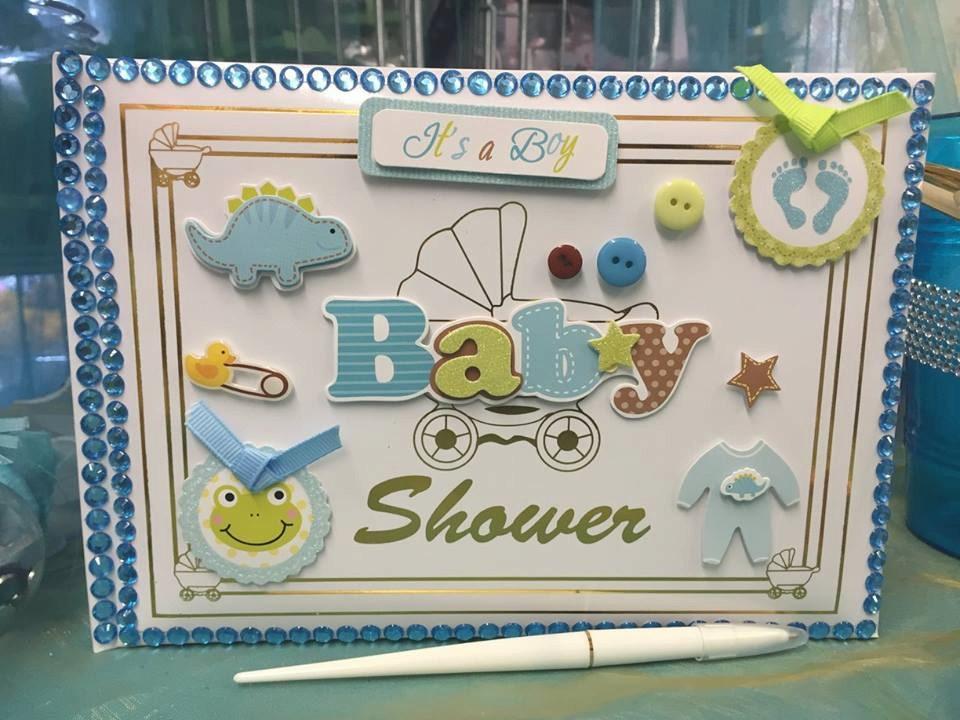baby shower guest book it 39 s a boy keepsake