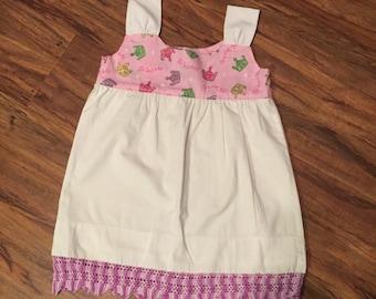 Vintage pillowcase dress size 3