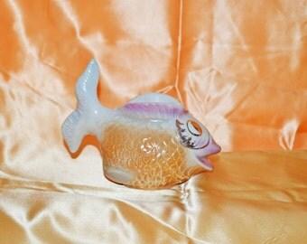 Whimsical Luminescent Fish Vase