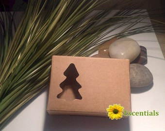 Pine Tree Cut Out Soap Box - 5 Pack