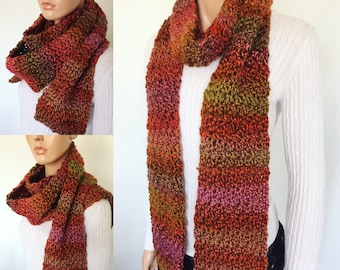 Crochet Premium Fashion Scarf/ High Fashion Scarf/ Winter Scarf/ Crochet Winter Scarf/ Handmade Gifts/ Trending item/ Christmas Gift/ Gifts