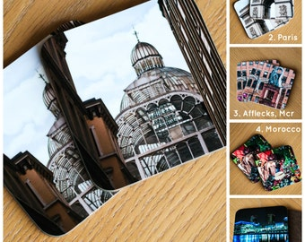 Travel Photography Coasters - Great Gift - Choose Any Two!