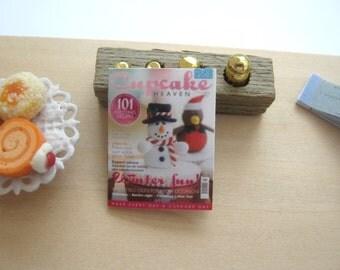 dollhouse cupcake magazine 12th scale miniature