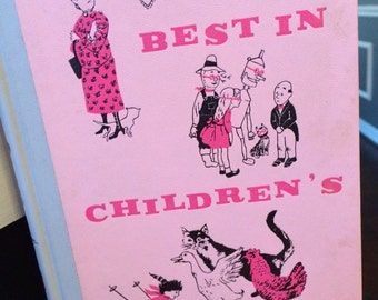 Best in Children's Books, children's book, children's stories, pink book