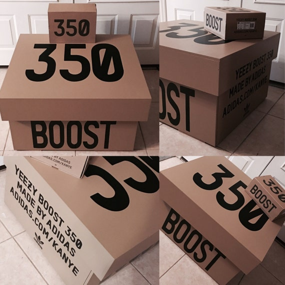 Yeezy 350 Boost Storage Box V2 12 pair by LeMaisonDeLuxe ...