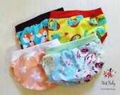 Children's underwear, assorted prints pack of 3, boy or girl, child briefs, toddler training pants