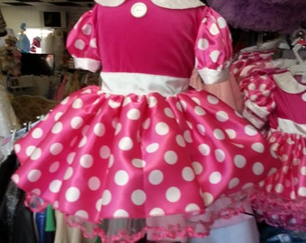 Minnie Mouse Hot Pink