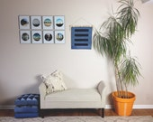 Denim Wall Hanging Wall Art Decor