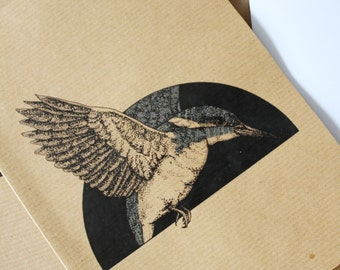 A5 Kingfisher Notepad