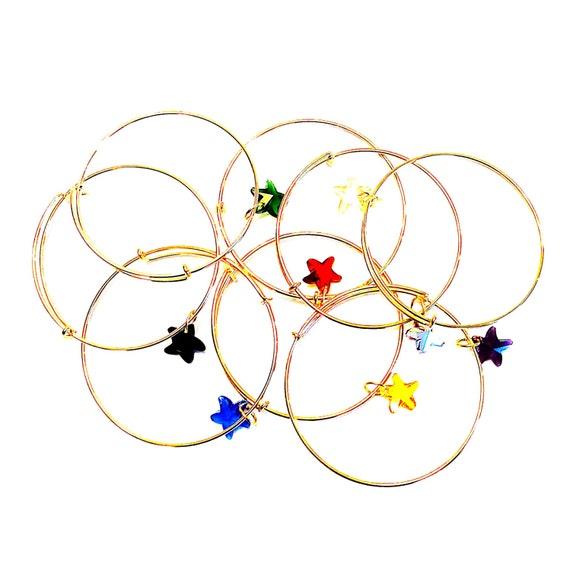 SWAROVSKI CRYSTAL STARFISH Bracelet 18k Gold